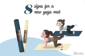 8 signs you should buy a new yoga mat