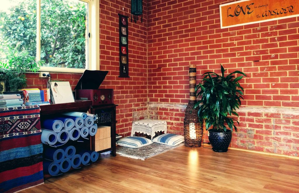 home based yoga studio