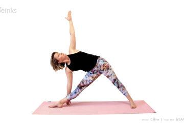 Celine - triangle pose