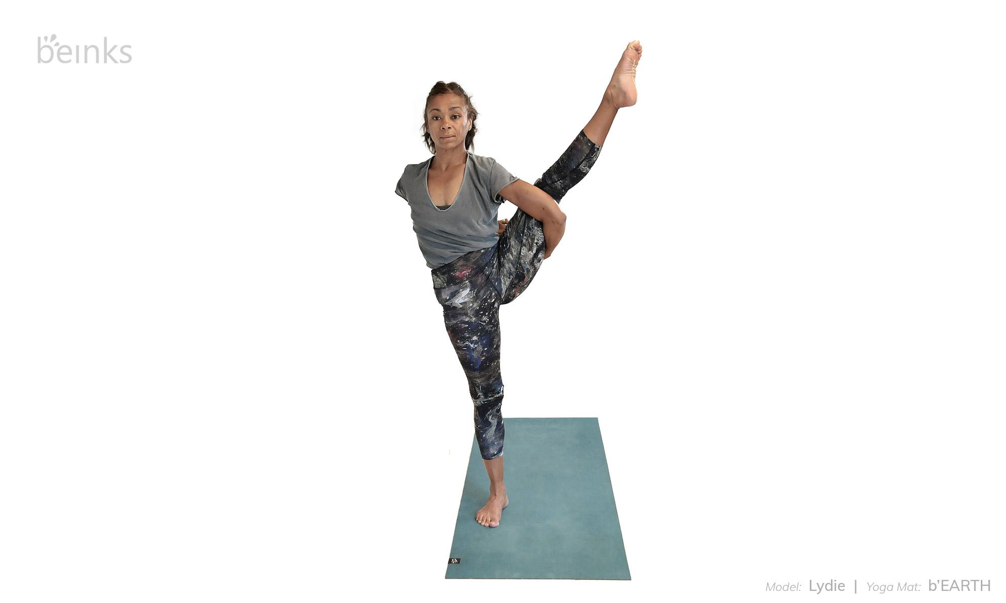 Standing Bird Of Paradise Yoga