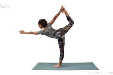 dancer's pose - lydie