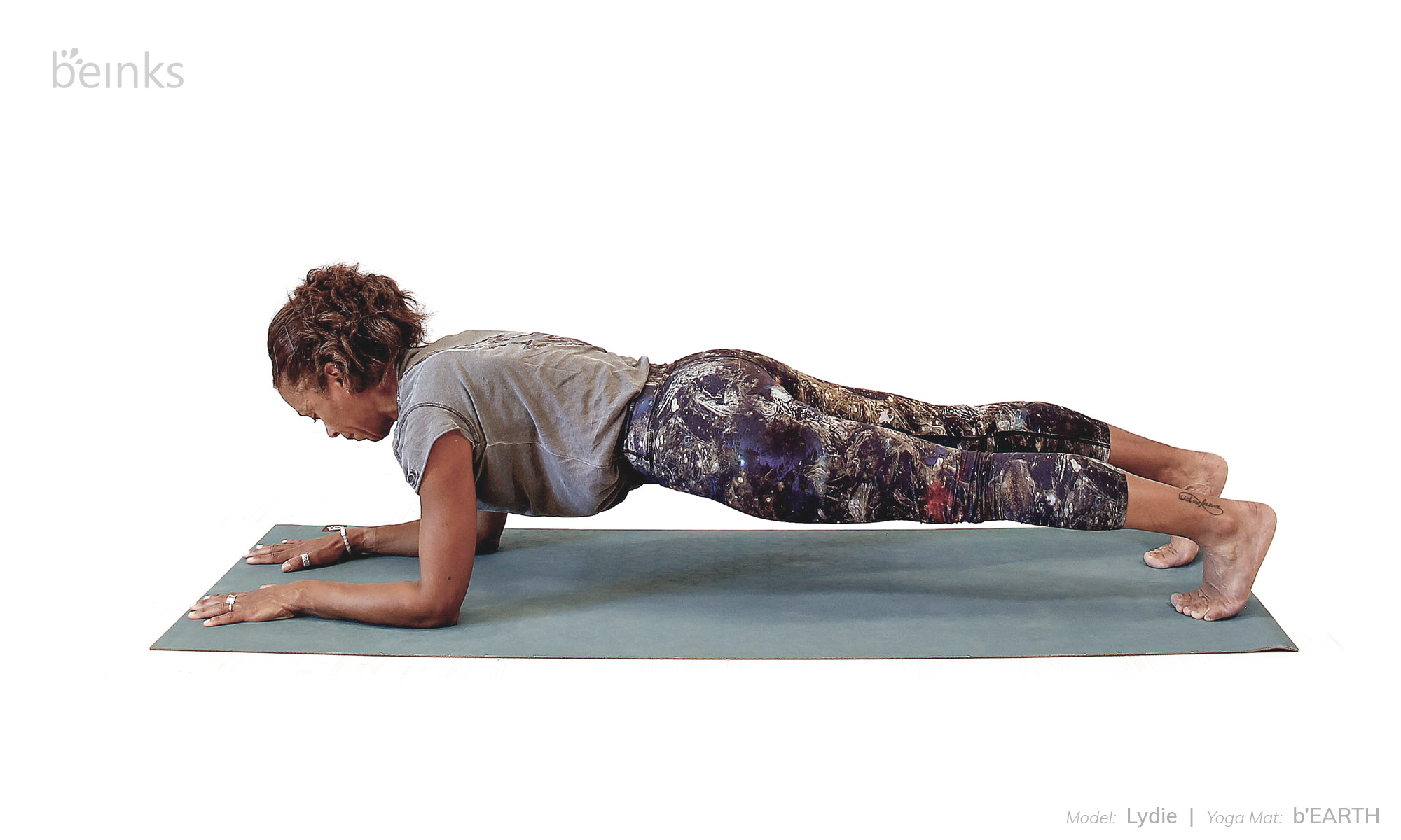 forearm plank - lydie