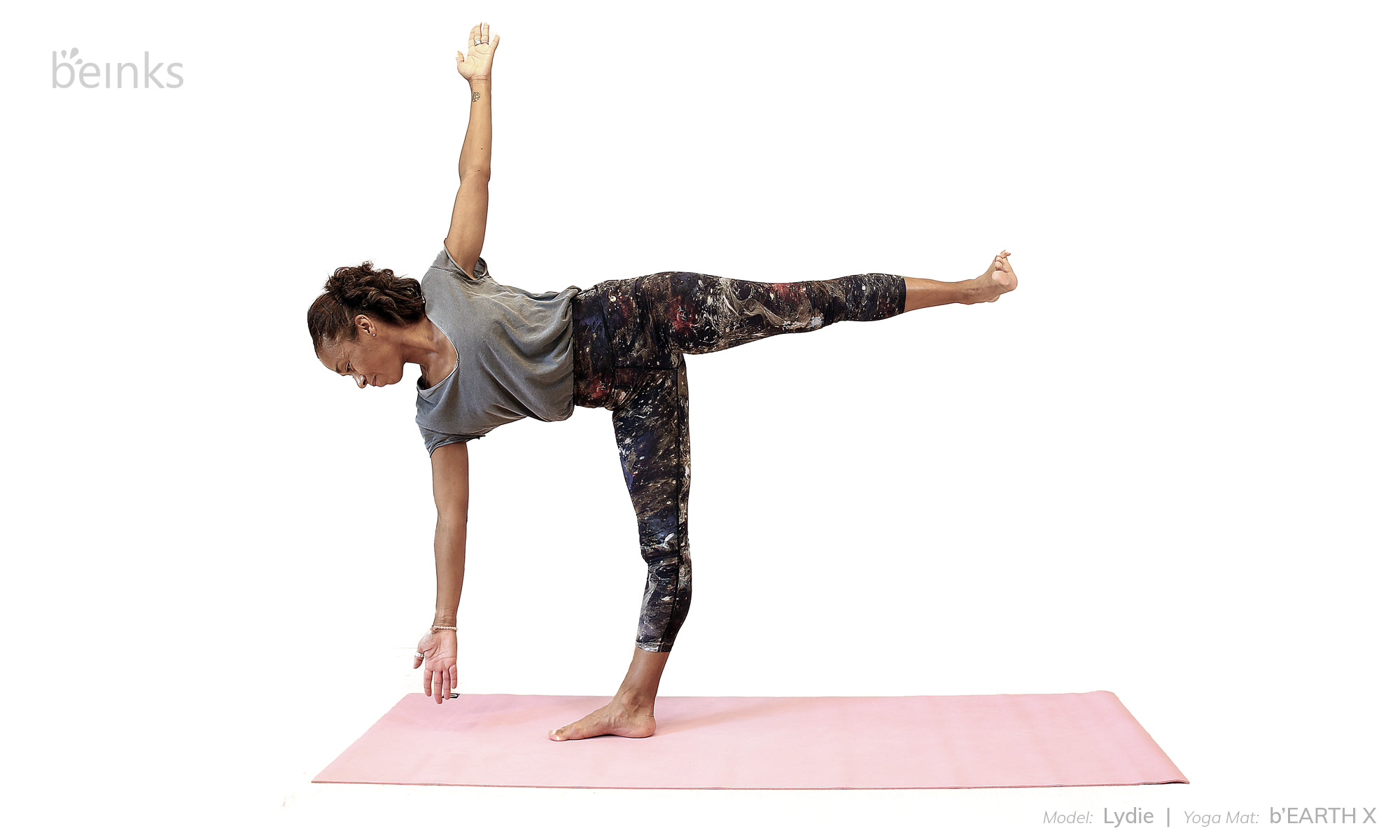 Extended Half Moon Pose